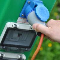 outdoor electric plug socket