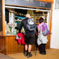 small bar at Cote Ghyll Mill