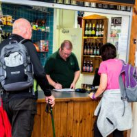 cosy little bar/tuck-shop within cote ghyll mill