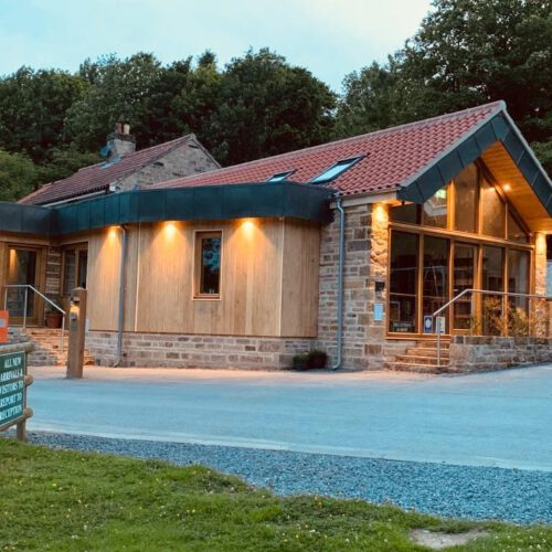 Cote Ghyll shop and reception