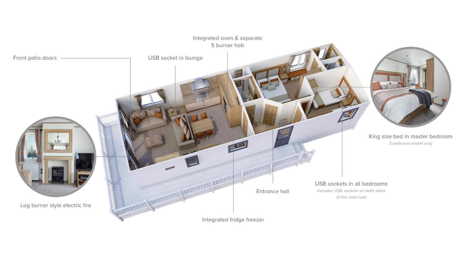 ABI Ambleside Premier 2020 floor plan