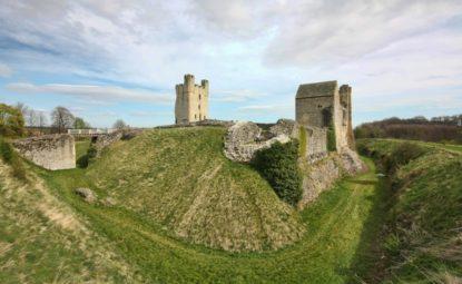 Ruins of Helmsley Castle