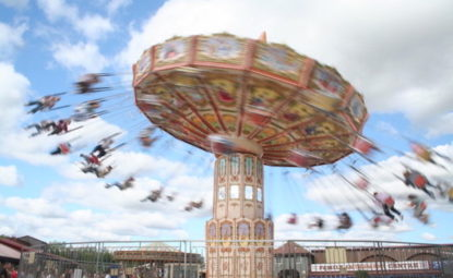 Spinning ride at Lightwater Valley